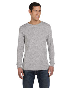 Athletic Heather Men's Jersey Long-Sleeve T-Shirt