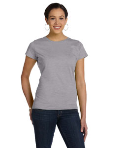 Heather Women's Fine Jersey Longer Length T-Shirt
