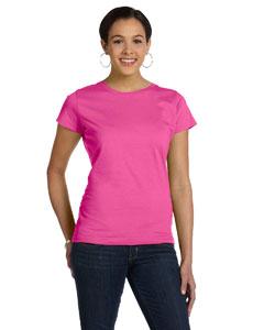 Raspberry Women's Fine Jersey Longer Length T-Shirt