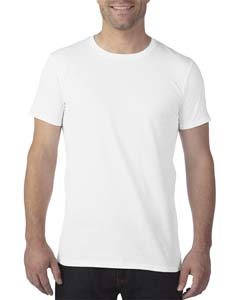 White 3.2 oz. Featherweight Short-Sleeve T-Shirt