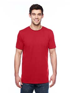 Red 3.2 oz. Featherweight Short-Sleeve T-Shirt