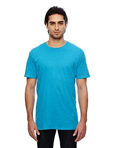 Caribbean Blue 3.2 oz. Featherweight Short-Sleeve T-Shirt