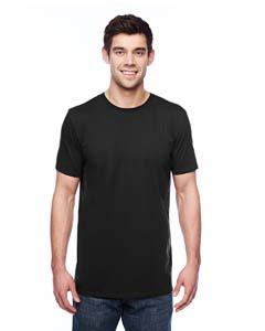 Black 3.2 oz. Featherweight Short-Sleeve T-Shirt