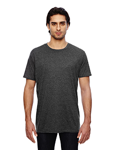 Heather Dk Gry 3.2 oz. Featherweight Short-Sleeve T-Shirt