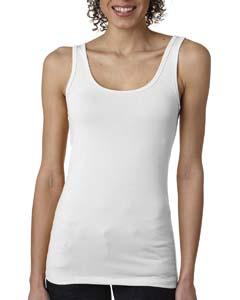 White Ladies' Jersey Tank Top