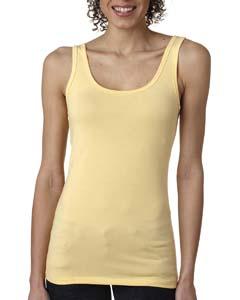 Banana Cream Ladies' Jersey Tank Top