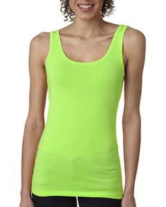 Neon Green Ladies' Jersey Tank Top