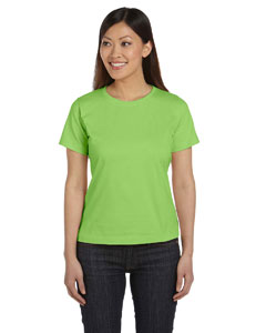 Key Lime Women's Combed Ringspun Jersey T-Shirt