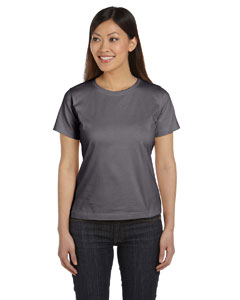 Charcoal Women's Combed Ringspun Jersey T-Shirt