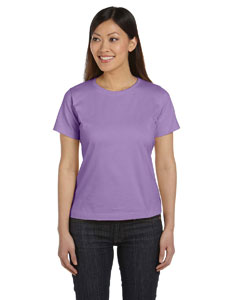 Lavender Women's Combed Ringspun Jersey T-Shirt