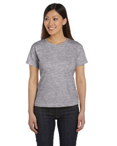 Heather Women's Combed Ringspun Jersey T-Shirt