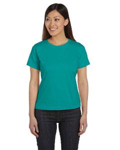 Jade Women's Combed Ringspun Jersey T-Shirt