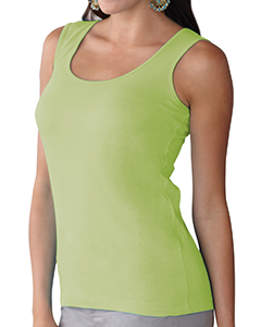 Key Lime Women's Scoop Neck Jersey Tank