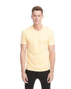 Banana Cream Men's Premium Fitted Short-Sleeve Crew