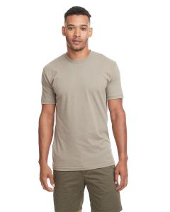 Sand Men's Premium Fitted Short-Sleeve Crew