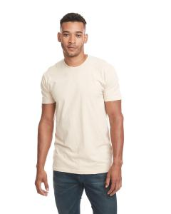 Natural Men's Premium Fitted Short-Sleeve Crew