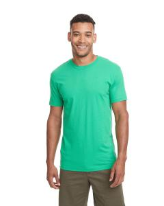 Kelly Green Men's Premium Fitted Short-Sleeve Crew