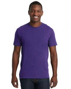 Purple Rush Men's Premium Fitted Short-Sleeve Crew