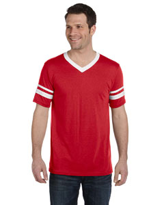 Red/white Sleeve Stripe Jersey
