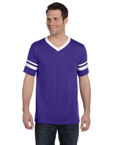 Purple/white Sleeve Stripe Jersey