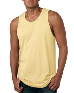 Banana Cream Men's Premium Jersey Tank