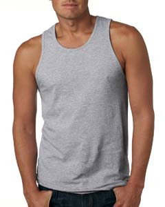 Heather Gray Men's Premium Jersey Tank