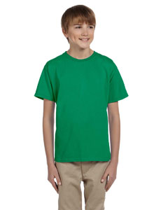 Kelly Youth 5 oz. HiDENSI-T® T-Shirt
