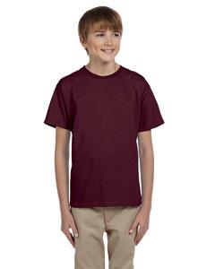 Maroon Youth 5 oz. HiDENSI-T® T-Shirt