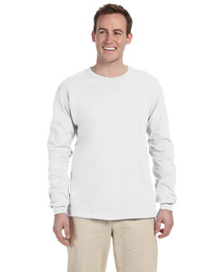 White 5 oz. HiDENSI-T® Long-Sleeve T-Shirt
