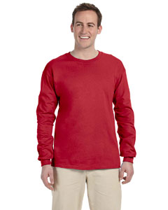 True Red 5 oz. HiDENSI-T® Long-Sleeve T-Shirt