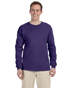 Deep Purple 5 oz. HiDENSI-T® Long-Sleeve T-Shirt
