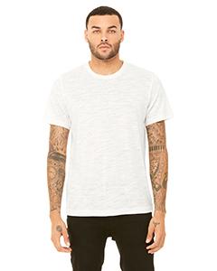 Natural Slub Unisex Poly-Cotton Short-Sleeve T-Shirt