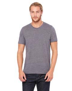 Asphalt Slub Unisex Poly-Cotton Short-Sleeve T-Shirt