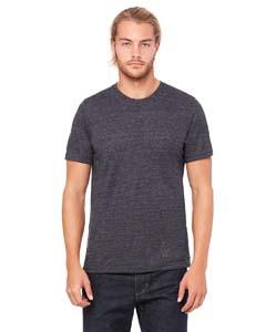 Chrcl Blk Slub Unisex Poly-Cotton Short-Sleeve T-Shirt