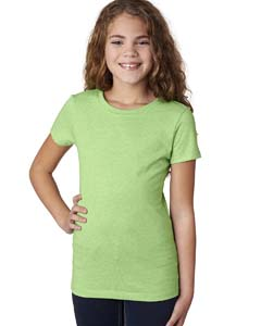 Apple Green Girls' Princess CVC Tee