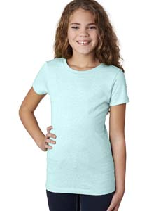Ice Blue Girls' Princess CVC Tee