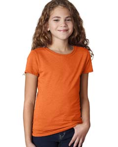 Orange Girls' Princess CVC Tee