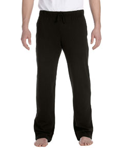 Black Men's Fleece Pant