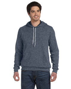Deep Heather Unisex Poly-Cotton Fleece Pullover Hoodie