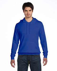 True Royal Unisex Poly-Cotton Fleece Pullover Hoodie