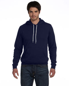 Navy Unisex Poly-Cotton Fleece Pullover Hoodie