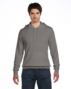Digital Grey Unisex Poly-Cotton Fleece Pullover Hoodie