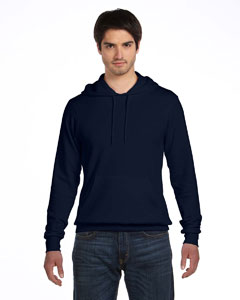 Digital Blue Unisex Poly-Cotton Fleece Pullover Hoodie