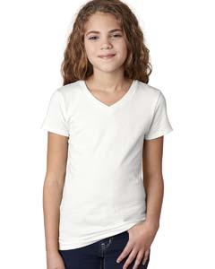 White Girls' Adorable V-Neck Tee