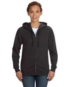 Smoke Women's Full-Zip Hoodie
