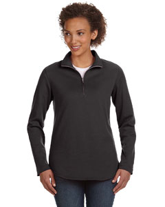 Smoke Women's Quarter-Zip Pullover