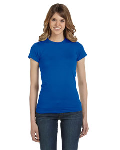 Royal Blue Women's Junior Fit Fashion T-Shirt