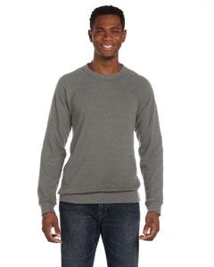 Grey Triblend Unisex Sponge Fleece Crew Neck Sweatshirt