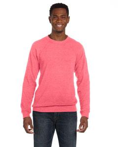 Red Marble Flc Unisex Sponge Fleece Crew Neck Sweatshirt