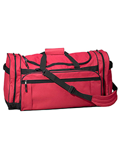 Red Explorer Large Duffel Bag